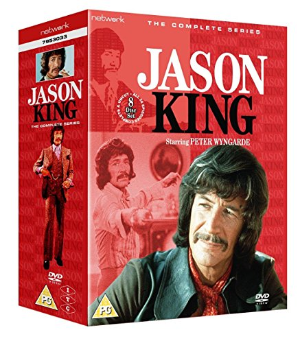 Jason-King-The-Complete-Series-DVD-CD-GCVG-FREE-Shipping