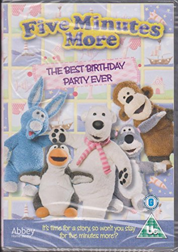 five minutes more dvd best birthday party ever