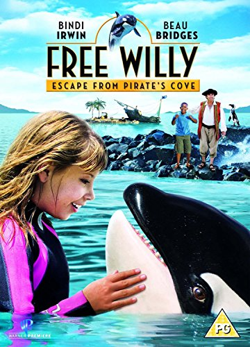 Free-Willy-Escape-From-Pirate-039-s-Cove-DVD-2010-CD-N2VG-FREE-Shipping