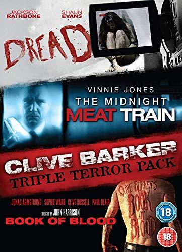 Clive Barker Boxset (DreadMidnight Meat TrainBook Of Blood)