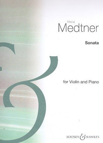 SONATA NO. 1 OP. 21 VIOLON By NIKOLAI MEDTNER