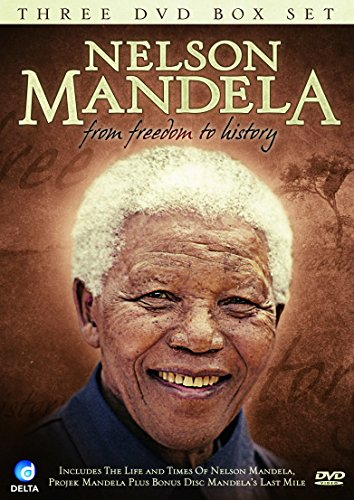 Nelson-Mandela-From-Freedom-to-History-DVD-CD-R6VG-FREE-Shipping