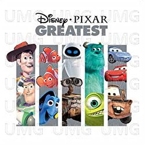 Disney Pixar Greatest By Various Artists