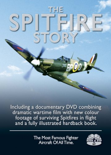 The-Spitfire-Story-Special-DVD-amp-Book-Boxed-Set-DVD-CD-EAVG-FREE-Shipping