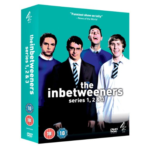 The-Inbetweeners-Series-1-3-Complete-DVD-DVD-V0VG-The-Cheap-Fast-Free