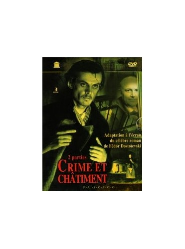 Crime-and-Punishment-Kulidzhanov-1969-DVD-CD-3CVG-FREE-Shipping