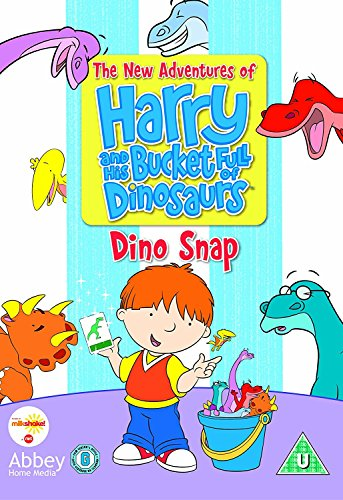 Harry-And-His-Bucket-Full-of-Dinosaurs-DVD-CD-O4VG-FREE-Shipping