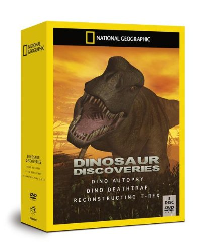 National-Geographic-Dinosaur-Discoveries-DVD-CD-SWVG-FREE-Shipping