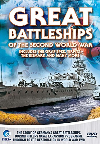 Great-Battleships-of-the-Second-World-War-DVD-CD-GIVG-FREE-Shipping