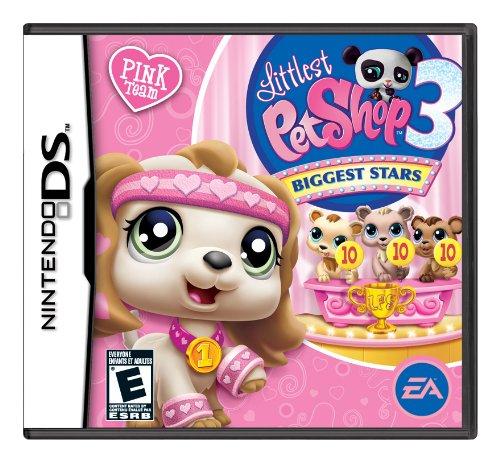 Nintendo Ds - Littlest Pet Shop: Biggest Stars Pink / Game