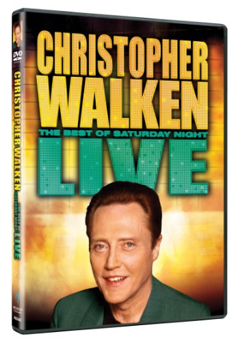 Saturday-Night-Live-Christopher-Walken-DVD-CD-4AVG-FREE-Shipping