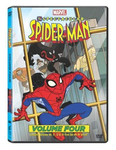 The-Spectacular-Spider-Man-Volume-4-DVD-2010-CD-BYVG-FREE-Shipping