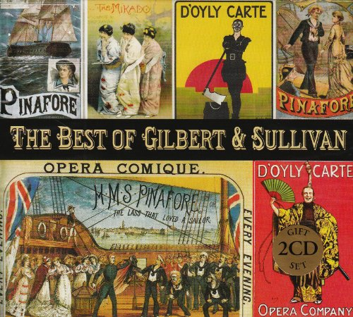 The Best Of Gilbert And Sullivan Music Cd The Best