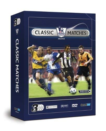 Premier-League-Classic-Matches-Triple-Pack-DVD-CD-OWVG-FREE-Shipping