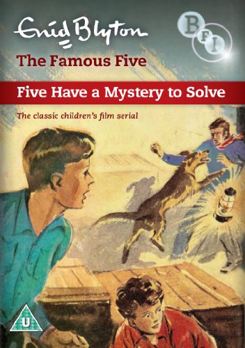 Enid Blyton's The Famous Five - Five Have A Mystery To Solve (Black & White)
