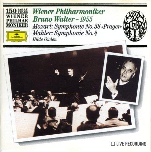 "Wiener Philharmoniker - Mozart: Symphony No.38 ""Prager"" Mahler: Symphony No.4 Hilde Gulden Wiener Ph By Wiener Philharmoniker"
