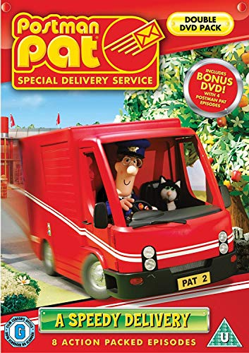 Postman-Pat-A-Speedy-Delivery-DVD-CD-1AVG-FREE-Shipping