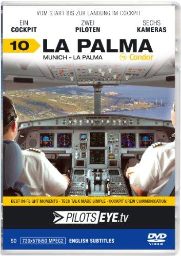 PilotsEYE.tv | Munich - LA PALMA |:| DVD |:| Cockpit flight Condor | Airbus A320 | Bonus: Islandtour