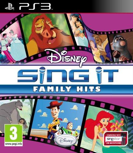 Disney Sing It Family Hits (PS3)
