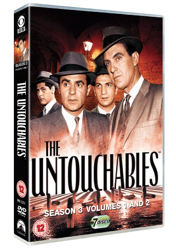 Untouchables-Complete-Season-3-DVD-CD-6CVG-FREE-Shipping