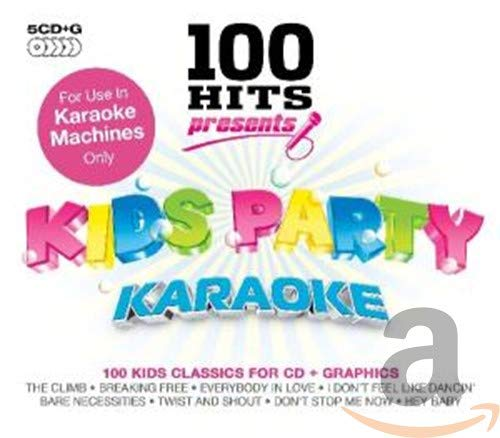 Various Artists - 100 Hits Presents - Kids Party Karaoke By Various Artists