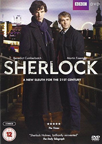Sherlock-Series-1-DVD-CD-14VG-FREE-Shipping