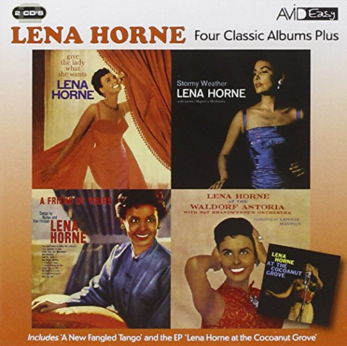 Lena Horne - Four Classics Albums Plus (Stormy Weather / Give The Lady What She Wants / At The Waldo By Lena Horne
