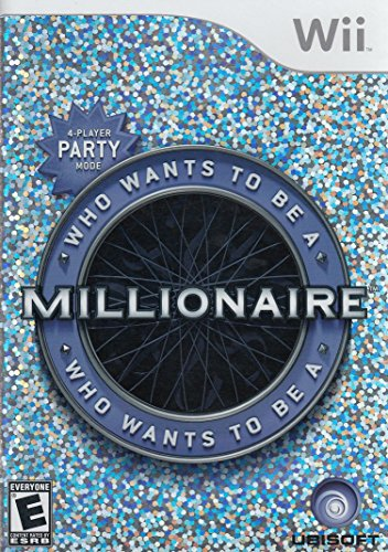Wii - Who Wants to Be a Millionaire / Game