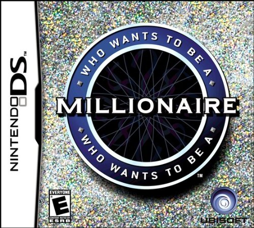 Nintendo Ds - Who Wants to Be a Millionaire / Game