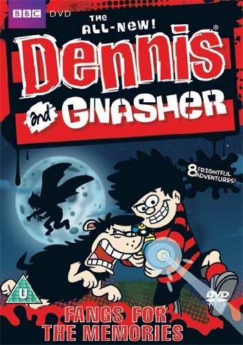 Dennis-and-Gnasher-Fangs-For-the-Memories-DVD-CD-CWVG-FREE-Shipping