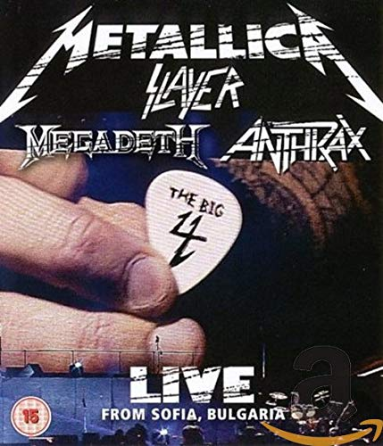The Big Four - Sonisphere 'Live From Sofia' - Metallica, Slayer, Megadeth, Anthrax