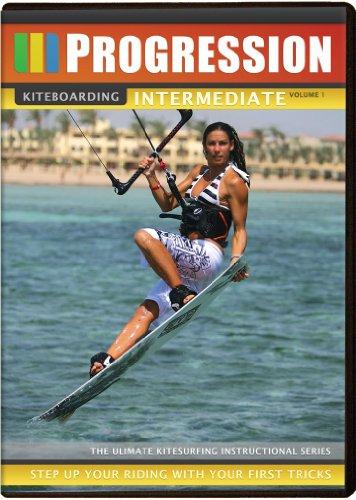 Progression-Kiteboarding-Intermediate-Volume-1-DVD-CD-GIVG-FREE-Shipping
