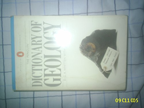 Dictionary of Geology By Douglas Gilbert Alban Whitten