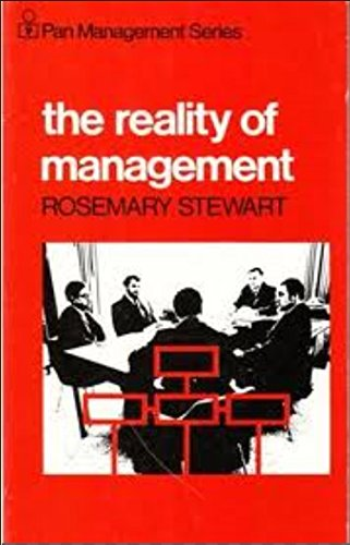 The Reality of Management By Rosemary Stewart