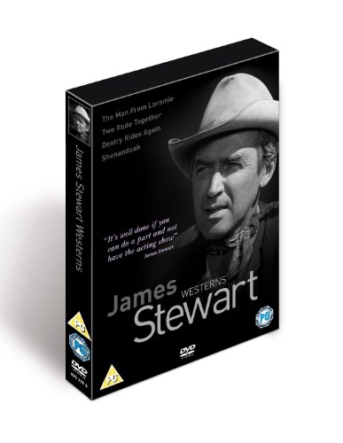 James Stewart Westerns - Destry Rides Again (1939)/Shenandoah/The Man From Laramie/Two Rode Together