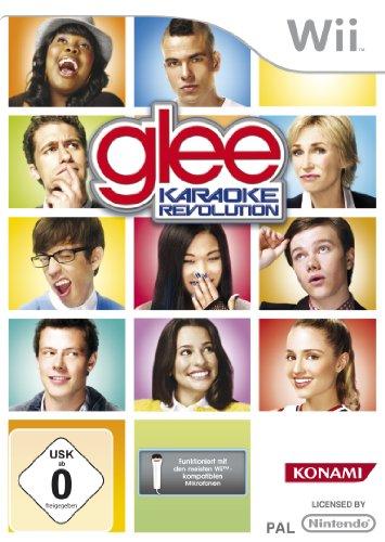 Karaoke Revolution Glee Vol.1 (Wii) German Cover - Multi-Language Game Including English