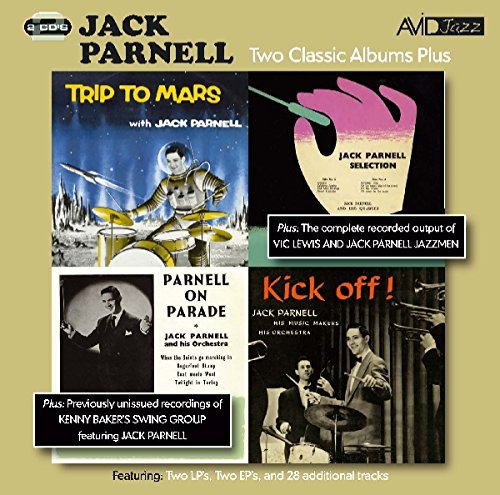 Jack Parnell - Two Classic Albums Plus Two Ep's (Trip To Mars / Jack Parnell Selection / Parnell On