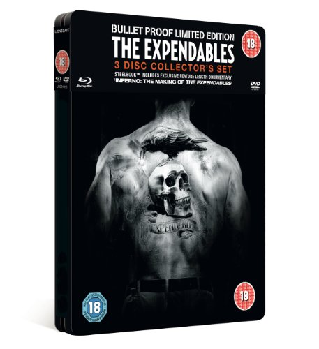 Expendables Collector's Edition Steel Tin - Double Play (Blu ray + DVD)