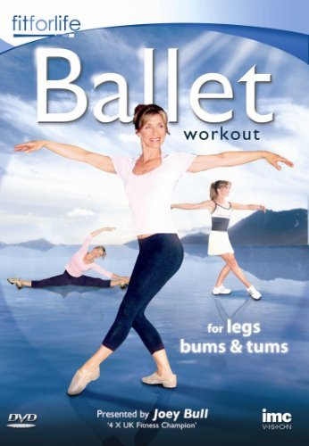 Ballet-Workout-For-Legs-Bums-amp-Tums-Joey-Bull-Fit-for-Life-Se-CD-V8VG