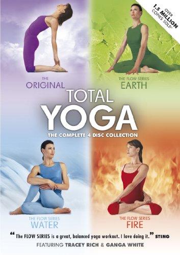 Total Yoga Collection - 4 Disc Box Set