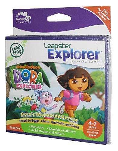 LeapFrog Dora the Explorer Leapster Explorer Learning Game