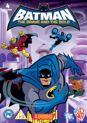 Batman-The-Brave-And-The-Bold-Vol-4-DVD-2011-CD-SGVG-FREE-Shipping