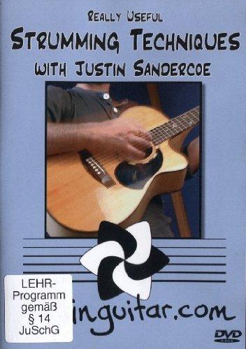 Justin Sandercoe: Really Useful Strumming Techniques (Pal Dvd)