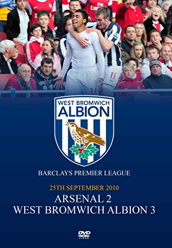 Arsenal-v-West-Bromwich-Albion-25-09-10-CD-SYVG-FREE-Shipping