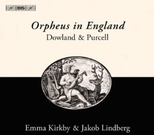 Jakob Lindberg - Dowland/ Purcell: Orpheus In England By Jakob Lindberg