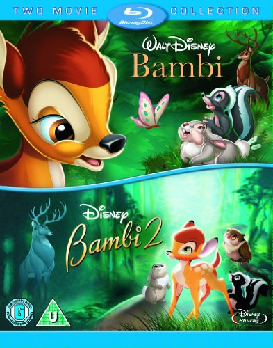 Bambi-Bambi-2-Double-Pack-Blu-ray-CD-DOVG-FREE-Shipping