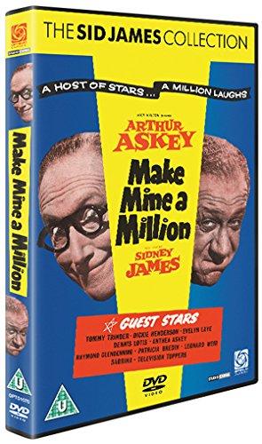 Make-Mine-A-Million-DVD-CD-D4VG-FREE-Shipping