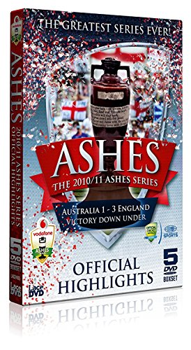 The Ashes Series 2010/2011 The Official Highlights 5DVD