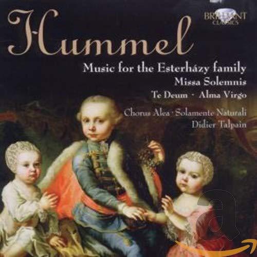 Didier Talpain - Hummel - Te Deum & Missa Solemnis