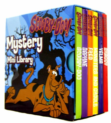 Scooby-Doo! Mystery Pocket Library 6 Board Books Set (Scooby Doo) (Shaggy, Velma, Monsters and Ghouls, Fred, Daphne, Scooby-Doo)